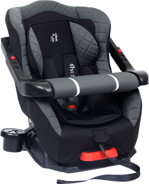 1st Step Car Seat With 5 Point Safety Harness And Adjustable Handlebar Baby Car Seat