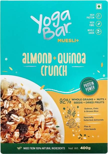 yoga bar Almond, Quinoa Crunch Muesli Plus