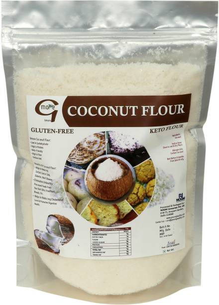 Gmore Coconut Flour - Coconut Powder - Coconut Atta - Gluten Free - Keto Diet - 100% Natural - 100% Pure