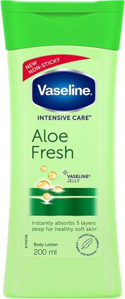 Vaseline Intensive Care Aloe Fresh Body Lotion