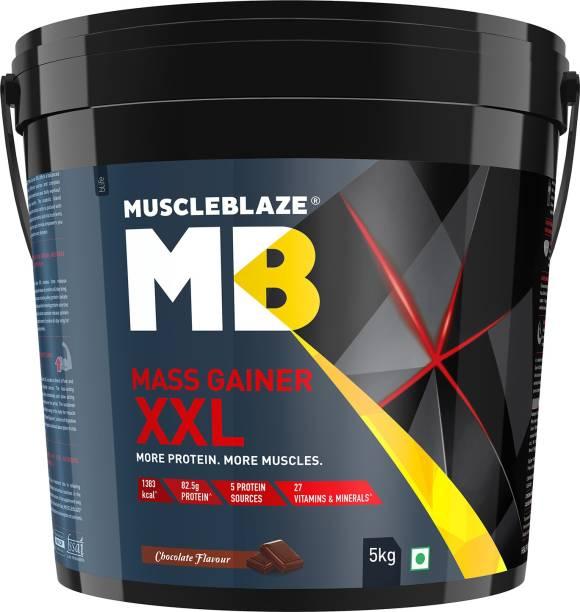 MUSCLEBLAZE XXL Weight Gainers/Mass Gainers