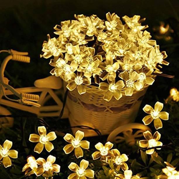 NISCO 118.11 inch Gold Rice Lights