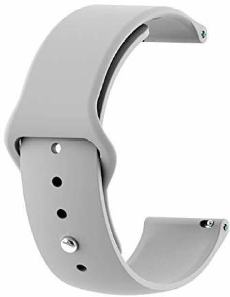 TECHWIND 22MM WATCH STRAP FOR GEAR S3 FRONTIER/ S3 CLASSIC/OTHER 22 MM WATCHES GREY Smart Watch Strap