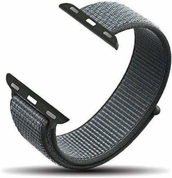 gettechgo Nylon Replacement Band Strap 42mm/44mm (Storm Grey) Smart Watch Strap