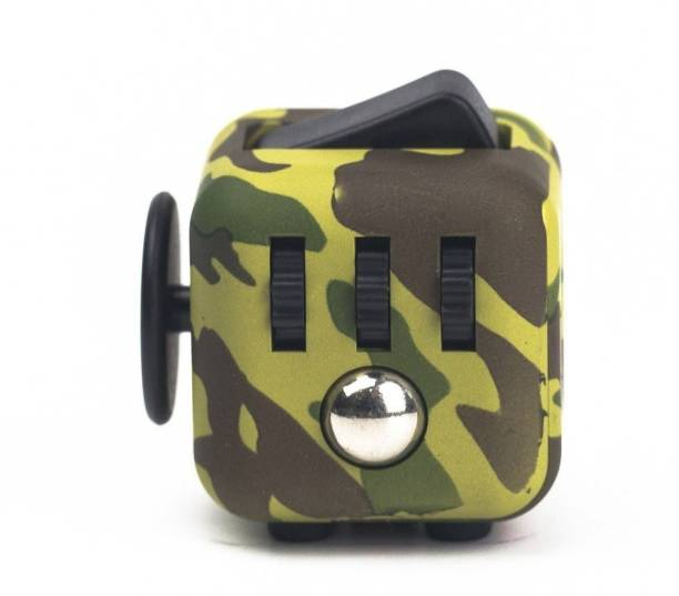 NSV The Original Fidget Cube Relieves Stress & Anxiety For Children And Adults Attention Toya Glossy Finish