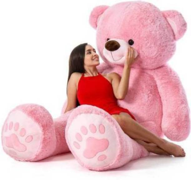 He&She Gift for kids for lover Very Cute Long Soft Hug able American Style Teddy Bear Best For Gift - 91.5 cm (Pink)  - 91.5 cm