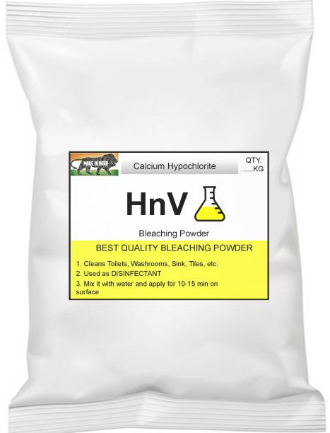 HnV 1kg BLEACHING POWDER DISINFECTANT BEST QUALITY PRODUCT Regular Powder Toilet Cleaner