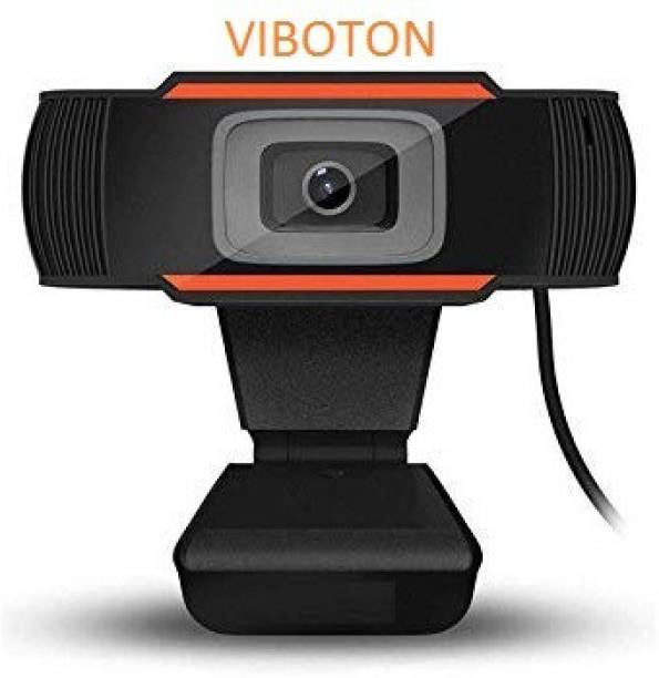 VIBOTON Web Camera HD 5P Lens with Microphone, Webcam 1080P, Web Cameras for Computers, Laptop, Desktop PC USB Webcam for Laptop Streaming, Video Chatting, Video Calling, Conferencing Recording  Webcam