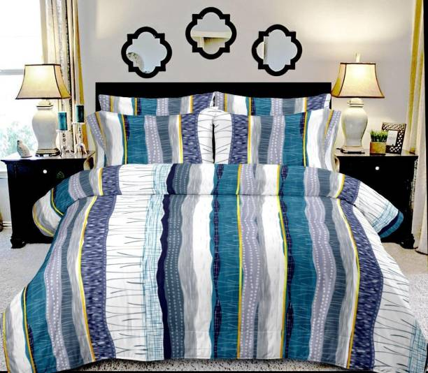 Varsha 280 TC Cotton Double Printed Bedsheet