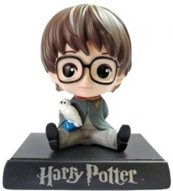 AweStuffs Harry Potter Phone Holder Car Decoration Bobblehead Action Figure
