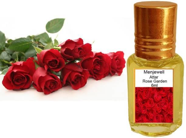 Menjewell Fragrances Rose (Natural Itra/Attar) Perfume) Floral Attar