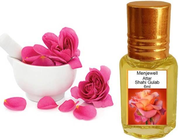 Menjewell Fragrances Shahi Gulab (Natural Itra/Attar) Perfume) Floral Attar
