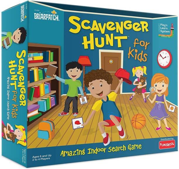 FUNSKOOL Scavenger Hunt For Kids Party & Fun Games Board Game