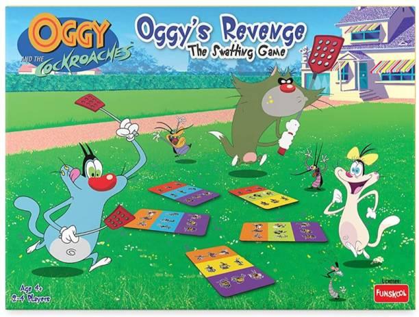 FUNSKOOL Oggy Revenge The Swatting Game Board Game Accessories Board Game