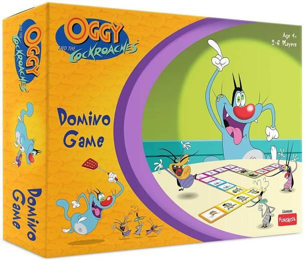 FUNSKOOL Oggy Domino Game Party & Fun Games Board Game