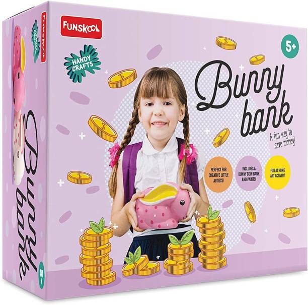 Funskool Bunny Coin Bank Coin Bank