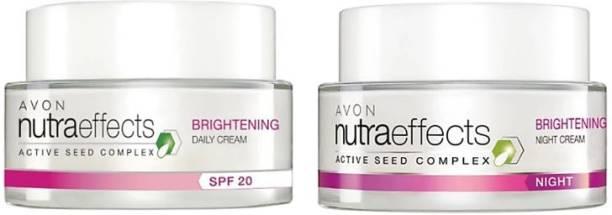 AVON True Nutraeffects Brightening Day Cream SPF 20 + True Nutraeffects Brightening Night Cream