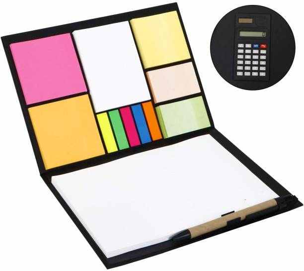 Pinzo Memo Pad with Calculator Regular Memo Pad 100 Pages