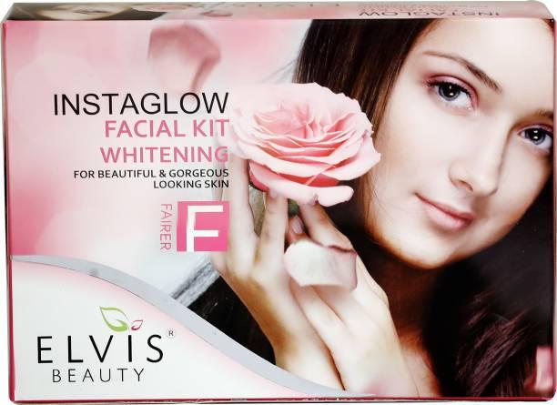 ELVIS BEAUTY EVS Insta Glow Facial Kit -Whitening