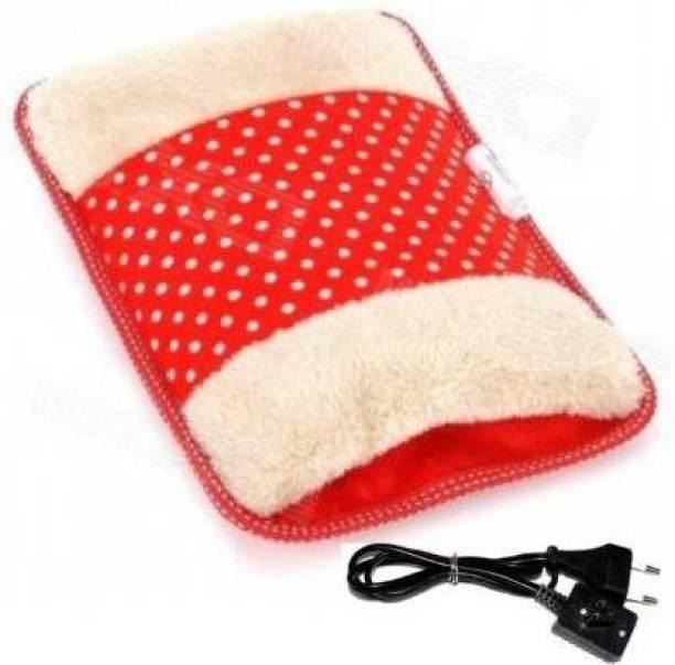 HEZKRT Electric Velvet Heating Gel Bag for Pain Relief /Hand Warmer/Warming Treasure/Hand Pillows Electric Hot Water Bag 1 L Hot Water Bag