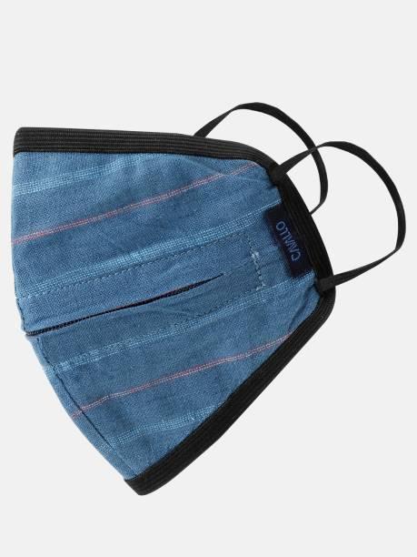 CAVALLO BY LINEN CLUB CAUMC002ST00009-B7 Cloth Mask With Melt Blown Fabric Layer