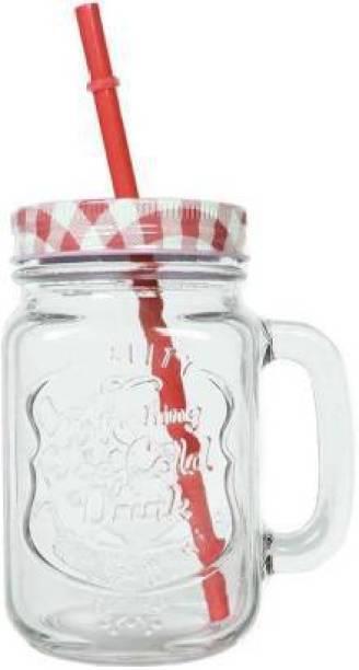 SCODELLA Mason Jar Glass Mason Jar