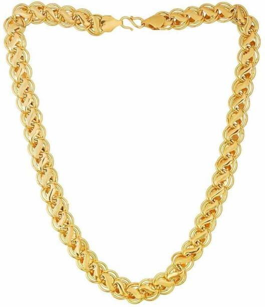 3SIX5 Golden New Trending Chain Gold-plated Plated Brass Chain