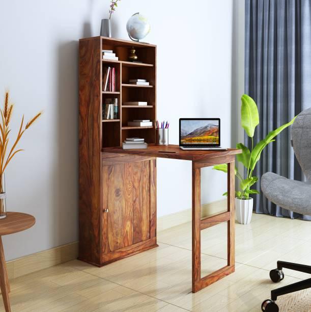 Home Edge Sheesham Wood Solid Wood Study Table