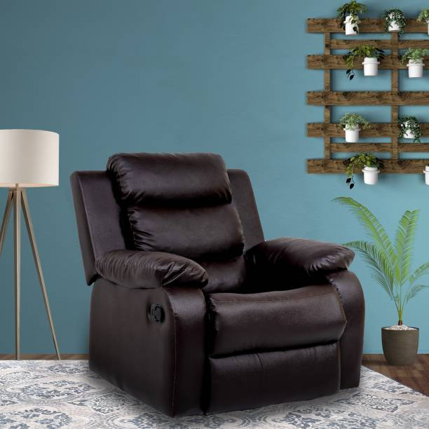 Flipkart Perfect Homes Costello Leatherette Manual Recliner