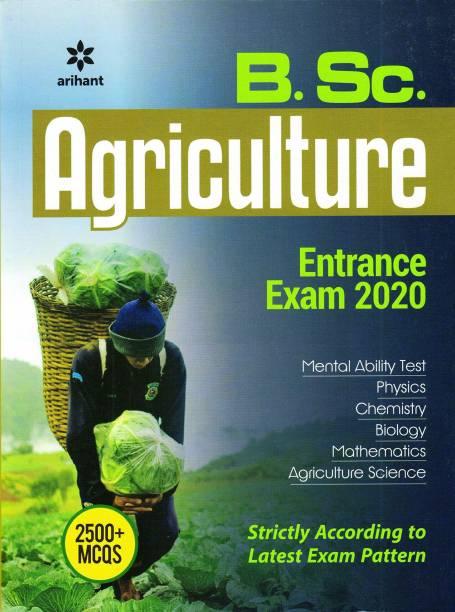 Arihant Bsc Agriculture Entrance Exam Book 2020
