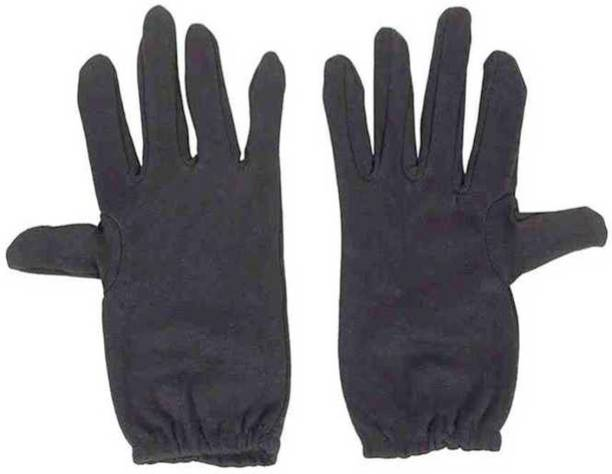 VT Virtue Trader Men Protective Hand Glove For -XL Size Black Pack 1 Cycling Gloves