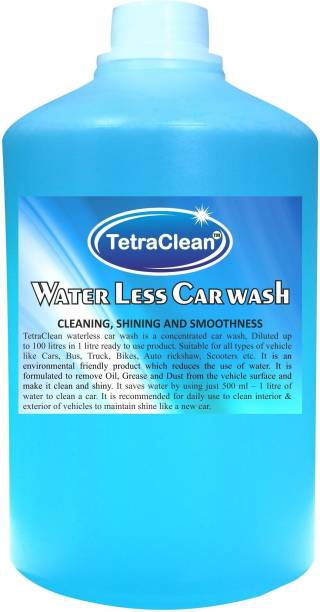 TetraClean Waterless Dry Car Wash Concentrate Car Washing Liquid