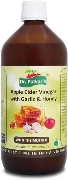 Dr. Patkar's Apple Cider With Garlic & Honey Vinegar