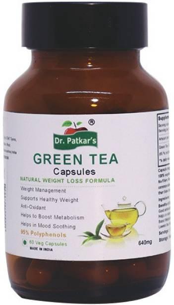 Dr. Patkar's Green Tea 60 Vegetarian Capsules