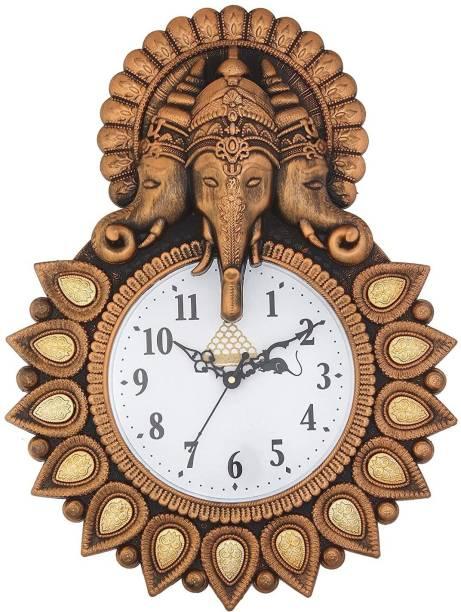BIG BANG CREATIONS Analog 33 cm X 24 cm Wall Clock
