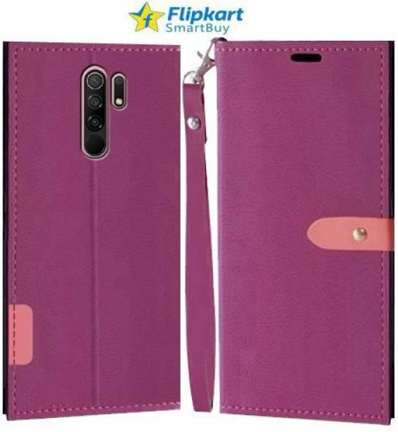Flipkart SmartBuy Flip Cover for MI Redmi 9 Prime, Poco M2