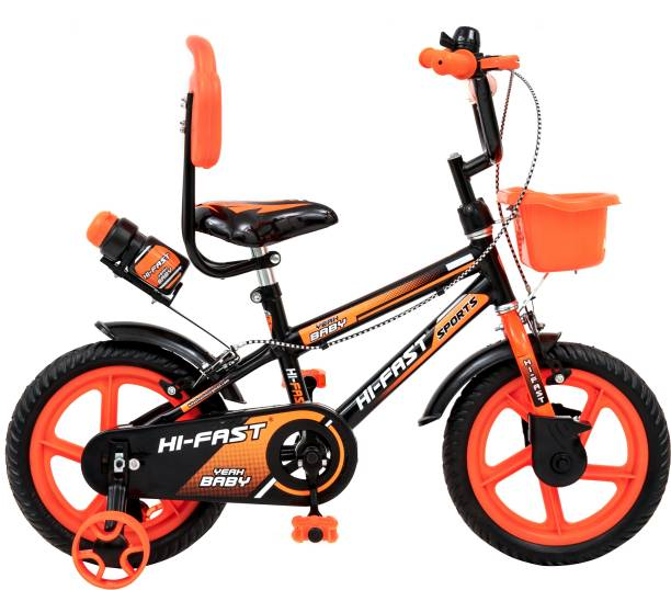 Hi-Fast Kids cycles For 2 Years to 5 Years Semi Assembled 14 T BMX Cycle