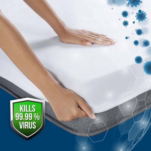 DUROFLEX Mattress Topper Double Size Waterproof Mattress Cover