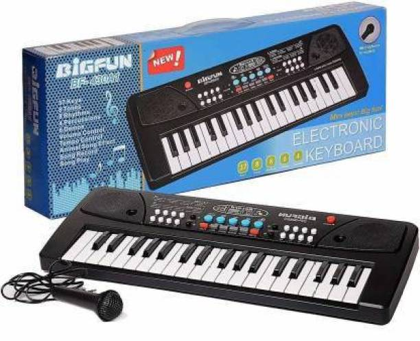 vasoya enterprises LATEST 37 Key Piano Keyboard Toy for kids DC POWER OPTION + RECORDING + MICROPHONE + FREE DATA CABLE …