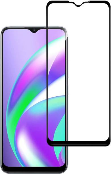 Hupshy Edge To Edge Tempered Glass for Realme Narzo 20, Realme Narzo 20A, Realme C11, Realme C12, Realme C15, Realme C3, Realme 5, Realme 5i, Realme 5s, Oppo A9 2020, Oppo A5 2020, Realme Narzo 10, Realme Narzo 10A, Oppo A31