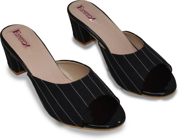 Fashion Footwear Women Black Heels