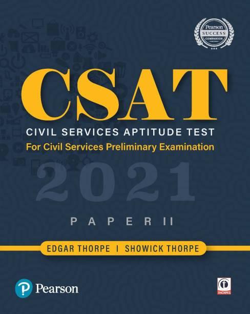CSAT 2021|Civil Services Aptitude Test |General Studies Paper 2 | For UPSC Civil Services Preliminary Examination | by Pearson