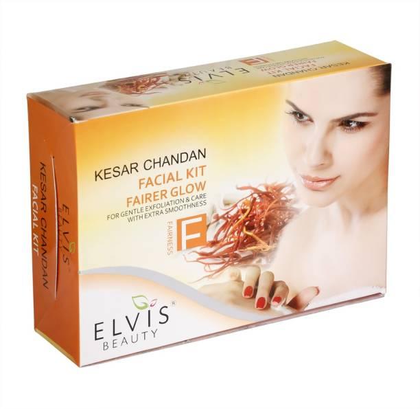ELVIS BEAUTY EVS Kesar Chandan Facial Kit - 420g