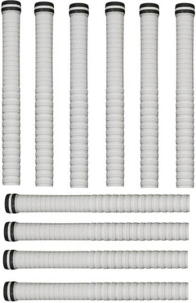 Krullers Set of 10Cricket Bat Handle Replacement Grips (Pack of 10) Extra Tacky