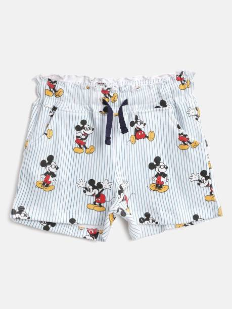 YK Disney Short For Girls Casual Printed Pure Cotton