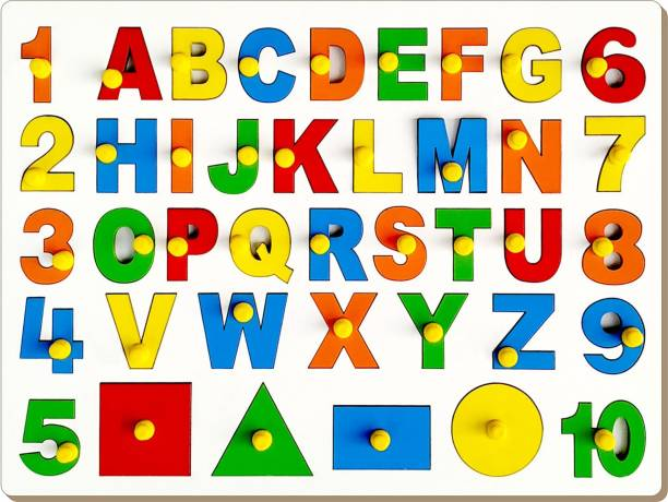 TheToyGood English (ABC) with Numbers and Shapes