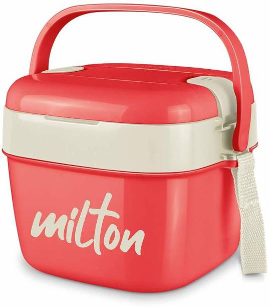 MILTON Cubic Small Tiffin Box, 800 ml 2 Containers Lunch Box