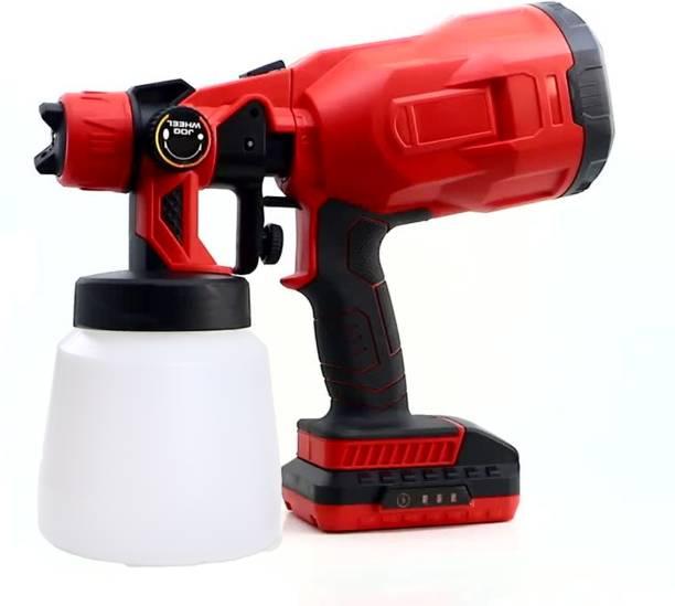 BUILDSKILL Pro Cordless Paint Sanitizer Sprayer 18V 2000 mAH with Copper Nozzle DIY Home Professional BPS3100 HVLP Sprayer