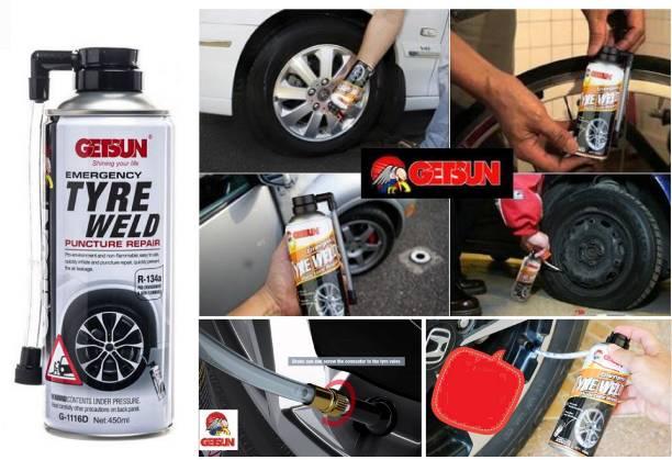 GetSun PUNCTURE REPAIR KIT EMERGENCY TyRE TIRE WELD Tubeless Tyre Puncture Repair Kit