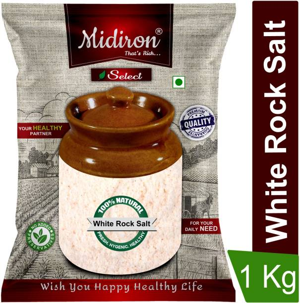 Midiron Himalayan Rock Salt (Sendha Namak) Premium Quality Rock Salt
